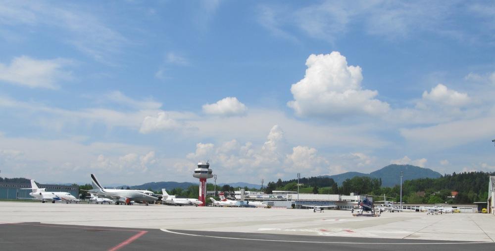 Aéroport / aérodrome de Ljubljana